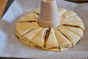 Stella di pan brioche alla nutella (7)