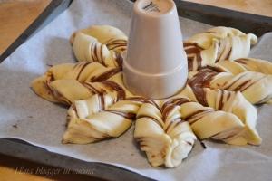 Stella di pan brioche alla nutella (9)