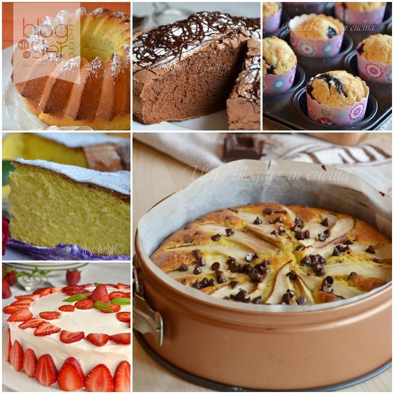 collage come preparare una torta