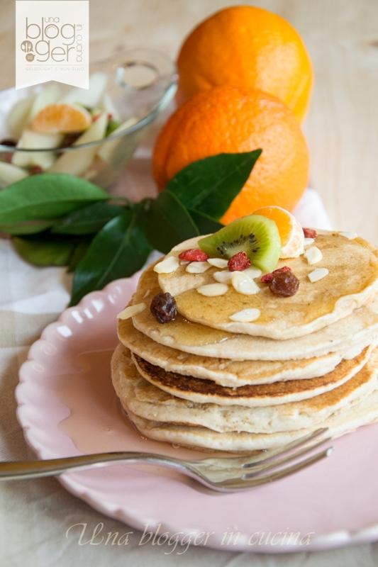 pancakes integrali light vert