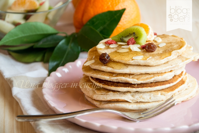 pancakes integrali light