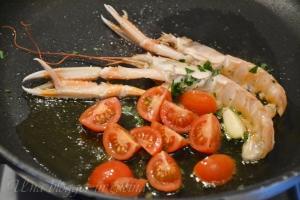 spaghetti al nero di seppia Michelis (2)