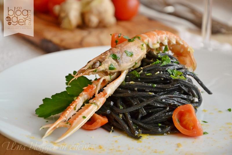 spaghetti al nero di seppia Michelis (4)