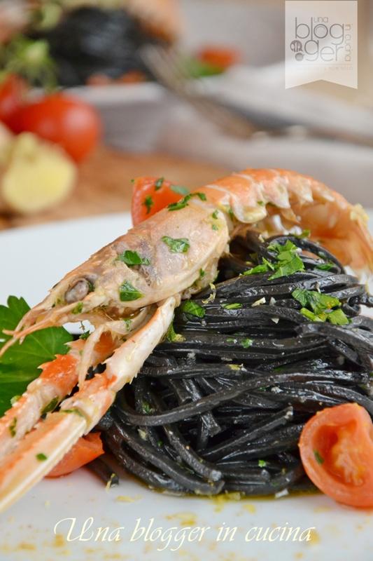 spaghetti al nero di seppia Michelis (7)