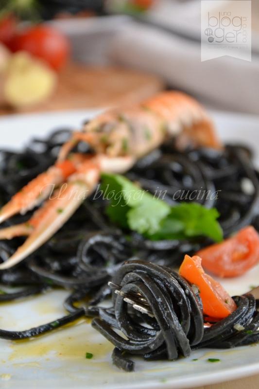 spaghetti al nero di seppia Michelis (9)