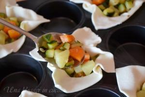 Cestini sfogliati verdure e pecorino (6)