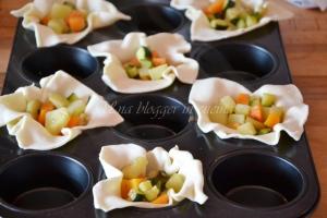 Cestini sfogliati verdure e pecorino (7)