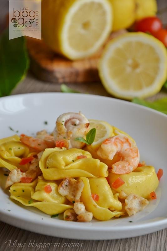 Tortelli ricotta e limone con sogliola e mazzancolle (9)