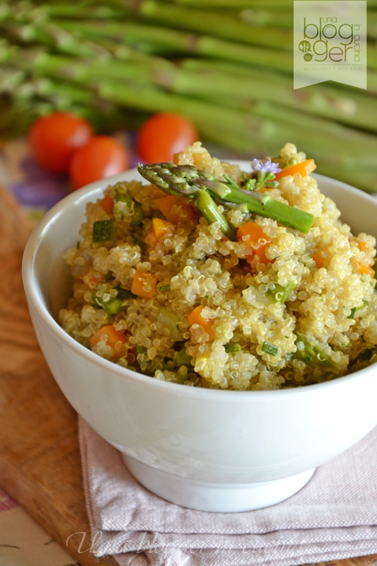 quinoa primavera con asparagi (3)