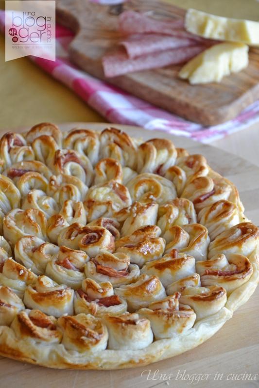 torta salata a fiore (11)