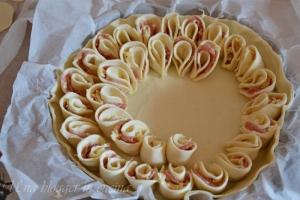 torta salata a fiore (8)