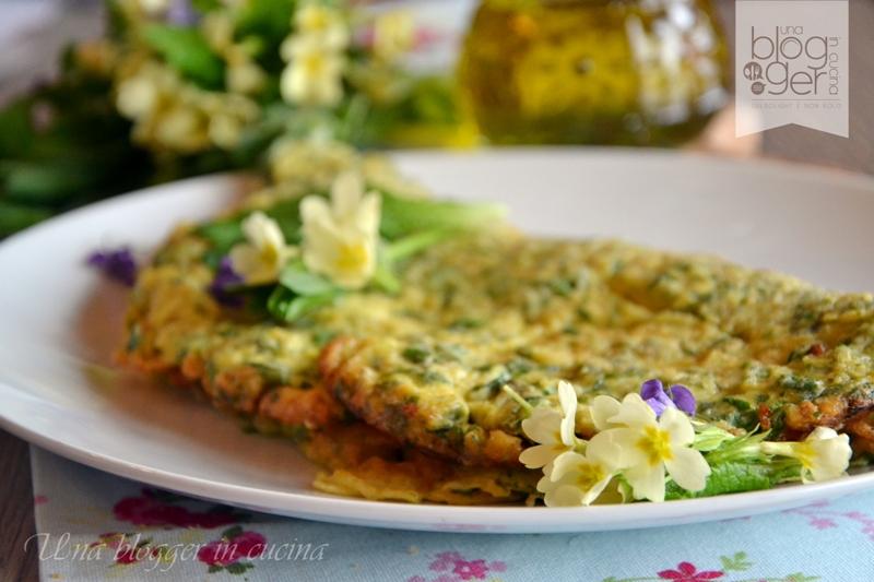Omelette con primule e erbe di montagna (3)