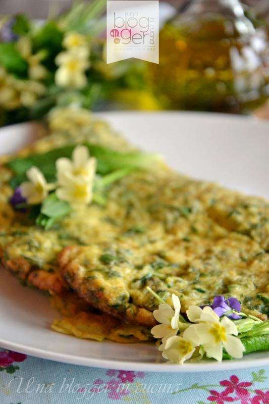 Omelette con primule e erbe di montagna (4)