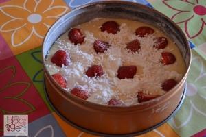 Torta ricotta e fragole (3)