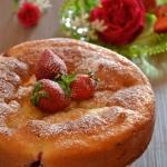 Torta ricotta e fragole (4)
