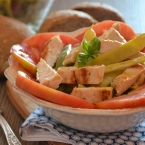 insalata di pollo grigliato e fagiolini bianchi (1)