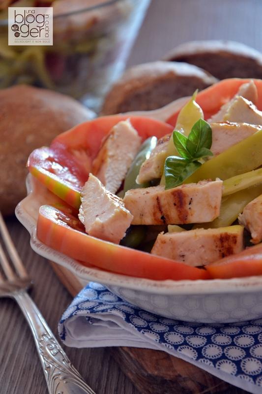 insalata di pollo grigliato e fagiolini bianchi (2)