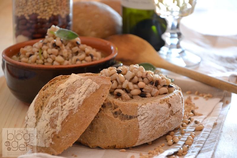 Zuppa di fagioli dell'occhio e farro dicocco - Morelli (3)