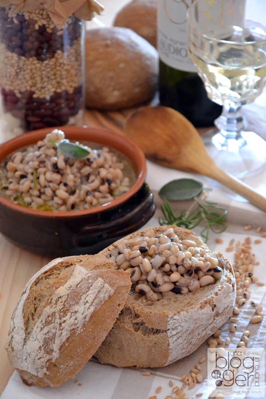 Zuppa di fagioli dell'occhio e farro dicocco - Morelli (4)