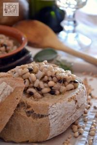 Zuppa di fagioli dell'occhio e farro dicocco - Morelli (5)