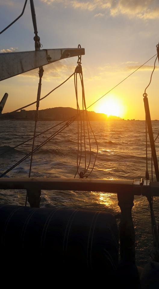 tramonto caicco