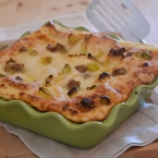 lasagna porri salsiccia seirass (2)