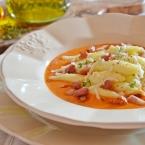 ravioles con crema di datterini pancetta scamorza affumicata e timo (2)