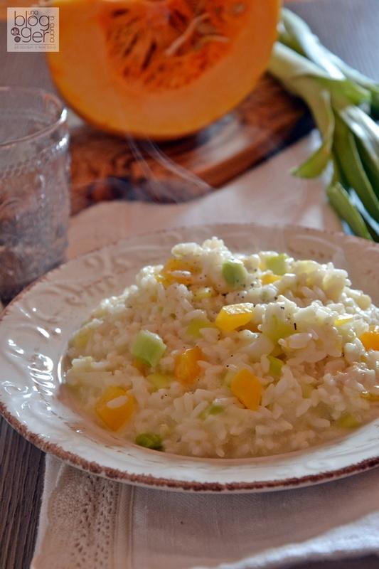 risotto zucca porri e gorgonzola (1)