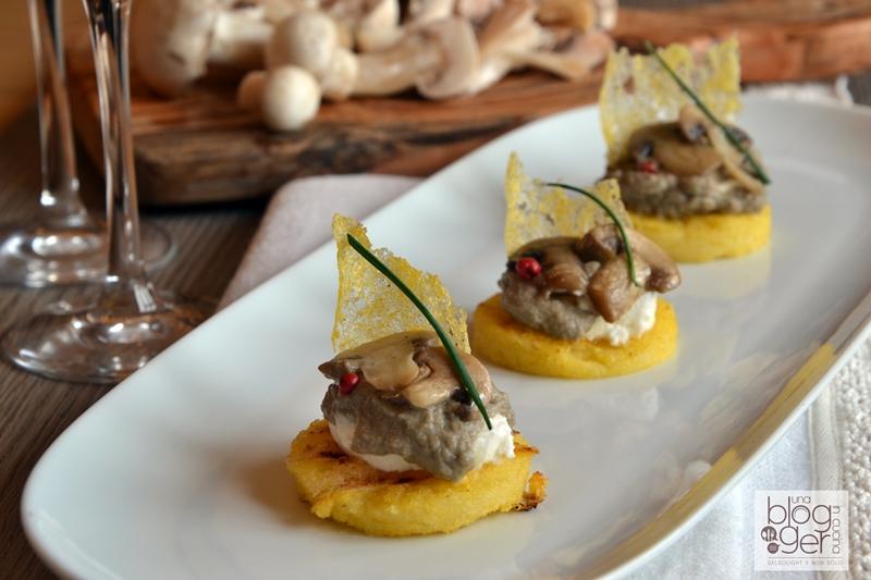 tartina di polenta con champignon (1)