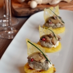 tartina di polenta con champignon (2)