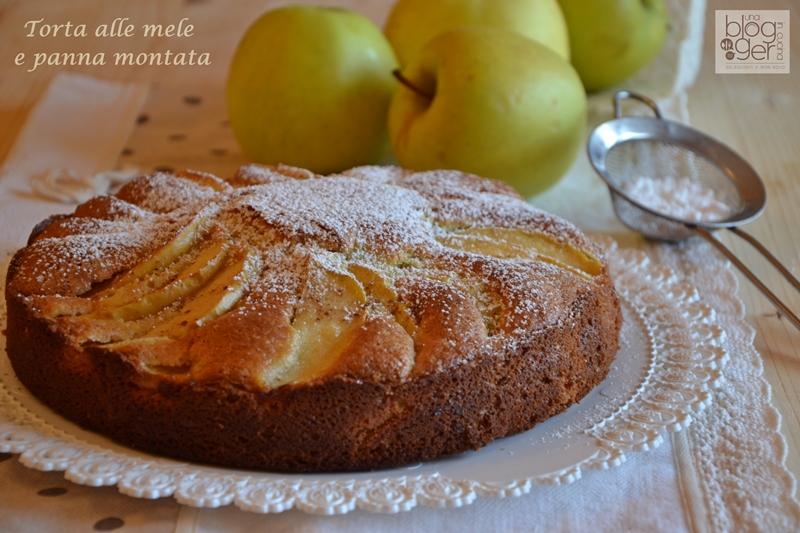 torta alle mele e panna montata nuove (1)