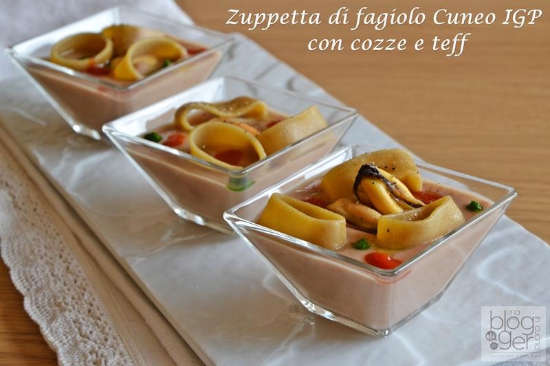 zuppetta di fagiolo cuneo igp con cozze e calamarata di teff (1)