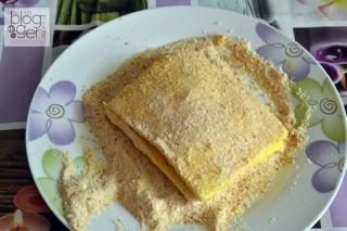 Mozzarella in carrozza al forno (4)