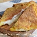 Mozzarella in carrozza al forno (6)