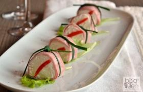 Sushi di mortadella, antipasto veloce