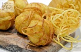 Gomitoli di patate filanti