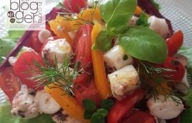 Insalata di polpo e verdure