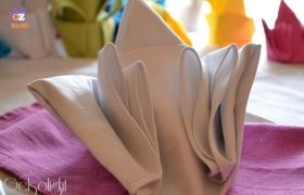 Piegare i tovaglioli di stoffa e carta – video tutorial