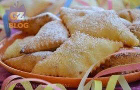 Bugie ripiene di Carnevale, al forno e fritte