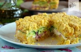 Sbriciolata salata, torta salata veloce
