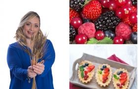 Barchette senza glutine ai frutti rossi, il mio video