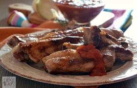 Costine alla griglia con salsa BBQ segreta