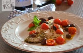 Filetti di cernia alla mediterranea