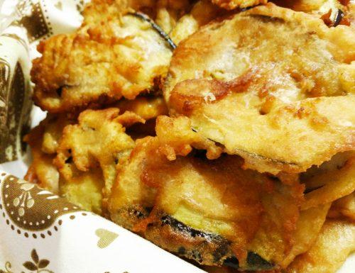 Melanzane fritte in pastella golose e saporite