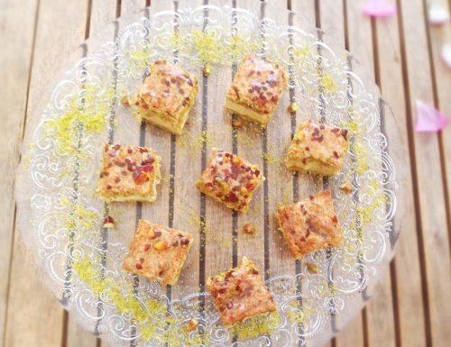 Oro verde: delizia al pistacchio.