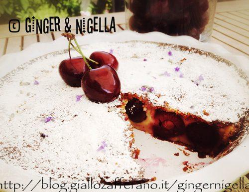 Clafoutis di ciliegie: un profumato dolce Francese (senza glutine)