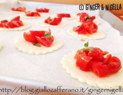 Pizzette di pasta sfoglia di Luca Montersino