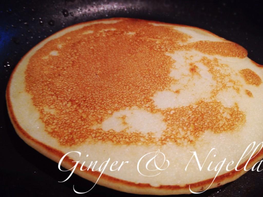 Pastella,pancake. farina di riso