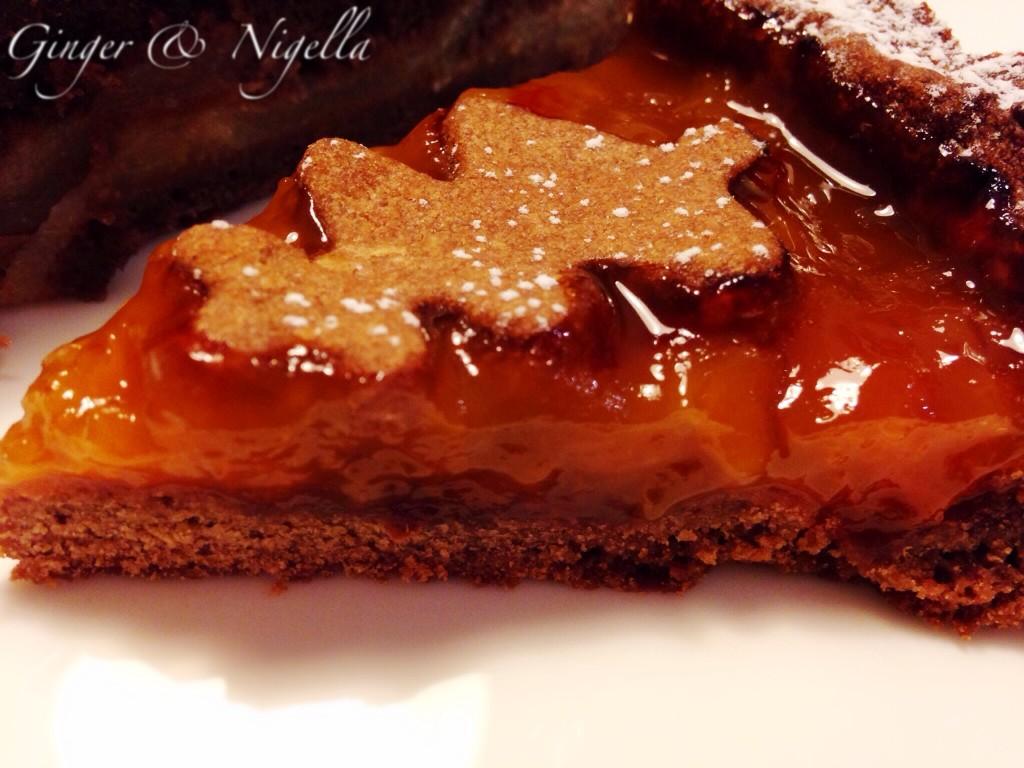 Frolla al cioccolato, Santin, crostata, cioccolato