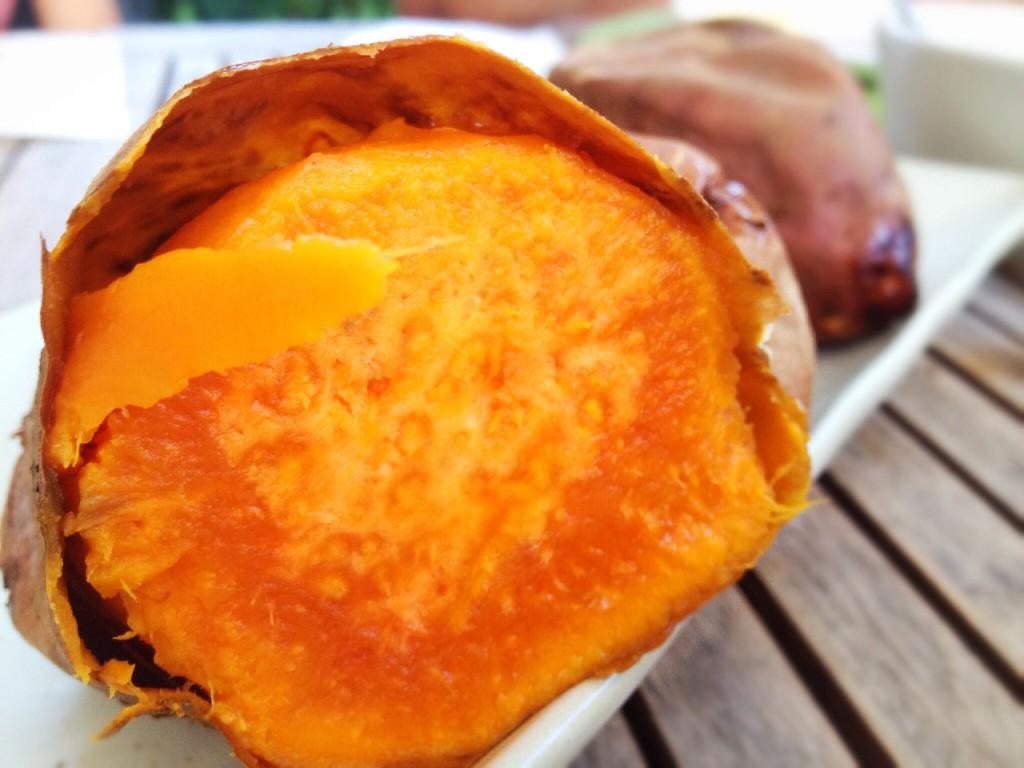 patata dolce ripiena, patata dolce, sweet potato